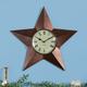 Barn Star Clock, One Size