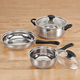 5-pc. Stainless Steel Cookware Set, One Size