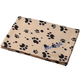 Personalized Paw Print Pet Blanket, One Size, Blue
