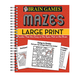Brain Games™ Large Print Mazes, One Size