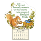 Mini Heavenly Friends Magnetic Calendar, One Size