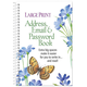 Large Print Address, Email & Password Book, One Size