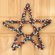 Grapevine Patriotic Berry Star Wreath, One Size