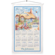 Personalized Bless This House Oh Lord Calendar Towel, One Size