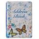 Butterflies Address Book, One Size