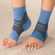 Light Support Ankle Sleeves, 1 Pair, One Size