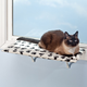 Paw Print Shelf with Warmer, One Size