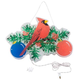 Cardinal with Ornaments Shimmer Light, One Size