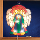 Stained Glass Angel Shimmer Light, One Size