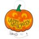 Happy Halloween Jack-o'-Lantern Shimmer Light, One Size