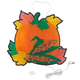 Pumpkin w/Leaves Shimmer Light by Northwoods Illuminations™, One Size