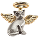 Cat Angel Pin, One Size