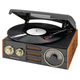 Studebaker 3-Speed Turntable with AM/FM Radio, One Size