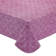 Tonal Medallion Vinyl Table Cover, One Size