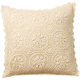 Vintage Medallion Crocheted Pillow Cover, One Size