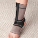 Magnetic Bamboo Ankle Brace with Zipper, One Size