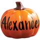 Personalized Ceramic Pumpkin, One Size