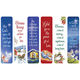 Religious Christmas Bookmarks, Set of 12, One Size