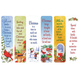 Secular Christmas Bookmarks, Set of 12, One Size