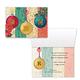 Monogram Ornament Christmas Card Set of 20