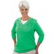 Shamrock Scrolls 3/4 Sleeve Shirt, One Size