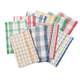 Plaid Kitchen Towels - Set of 10, One Size