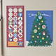 Magnetic Advent Calendar, One Size
