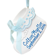 Personalized Baby Bootie Ornament, One Size, Blue