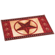 Barn Star Rug, One Size