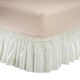 Solid Wrap Around Elastic Bed Skirt by OakRidge Comforts, One Size