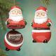 Santa Trinket Box Ornament, One Size