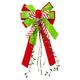 Velvet Christmas Bow, One Size