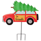 Personalized Woody Wagon Lawn Stake by Maple Lane Creations™, One Size