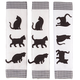 Cat Appliance Handle Covers, Set of 3, One Size