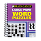 Brain Games Large Print Word Puzzles, One Size