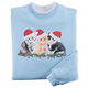 Joyous Kittens Sweatshirt, One Size, Multicolor