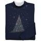 Sparkling Tree Sweatshirt, One Size