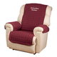 Personalized Warm Color Recliner Cover, One Size, Brown