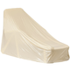 Beige Chaise Cover, One Size