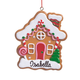Personalized Gingerbread House Ornament, One Size