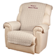 Personalized Beige Recliner Cover by OakRidge™, One Size, Burgundy
