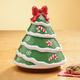 Ceramic Christmas Tree Cookie Jar, One Size