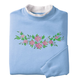 Floral Beauty Sweatshirt, One Size, Multicolor