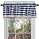 Buffalo Check Decorative Window Valance, One Size