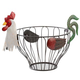Rooster Fruit Basket, One Size