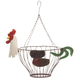 Hanging Rooster Fruit Basket, One Size