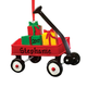 Personalized Wagon with Gifts Ornament, One Size