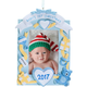 Personalized Baby's First Christmas Frame, One Size, Blue