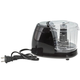 Black Electric Mini Chopper by Home-Style Kitchen, One Size