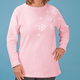 Swirling Snowflakes Tunic, One Size